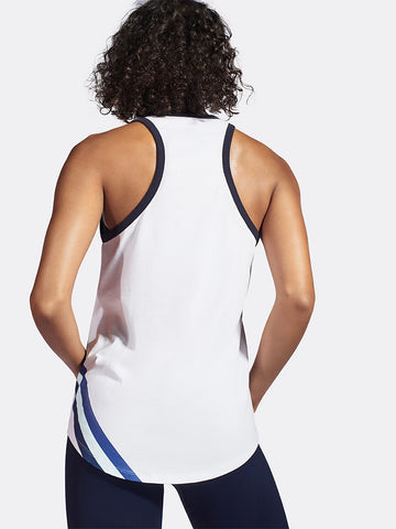 LNDR Warm Up Tank - White