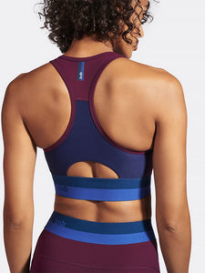 LNDR Spar Sports Bra - Blackberry