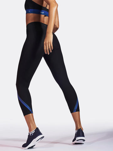 LNDR Stellar Crop Leggings - Black