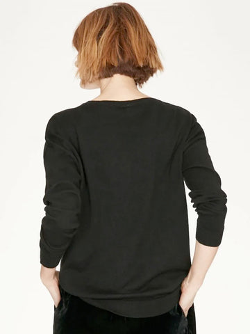 Thought Lulu Jumper - Black
