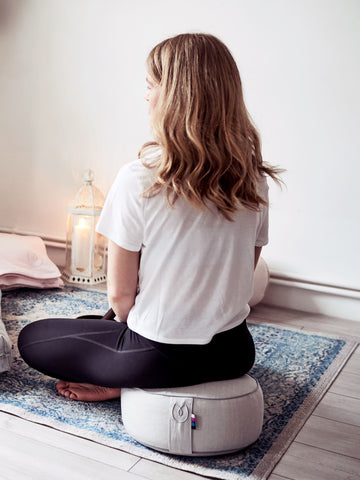 Yogamatters Organic Cotton Meditation Cushion