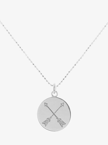 Mantra Jewellery Find A Way Necklace - Sterling Silver