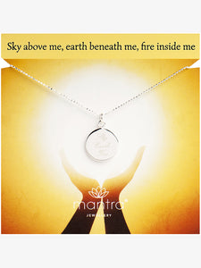 Mantra Jewellery Sky Earth Fire Necklace