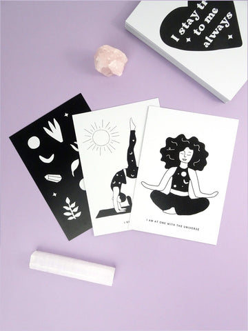 Note and Shine Self Love Card Deck