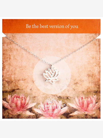 Mantra Jewellery Lotus Necklace