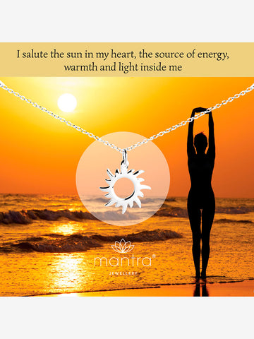 Mantra Jewellery Sun Necklace