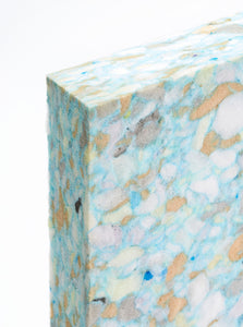 Yogamatters Chipped Foam Half Yoga Block