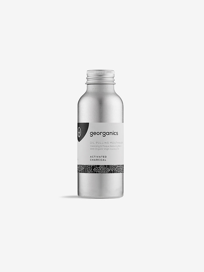Georganics Charcoal Oil Pulling Mouthwash - 100ml
