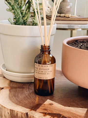 P.F. Candle Co 3oz Reed Diffuser - Black Fig