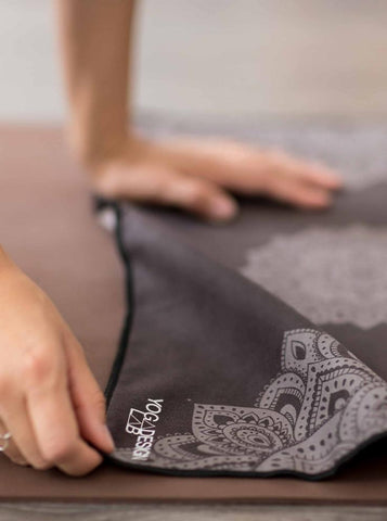Yoga Design Lab Hand Towel - Mandala Black