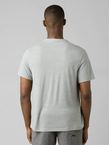 PrAna Prospect Heights Crew Neck T-Shirt - Grey
