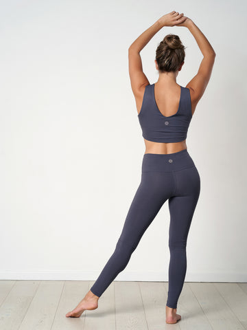Gossypium Rhythm Yoga Leggings - 75cm - Ash Grey