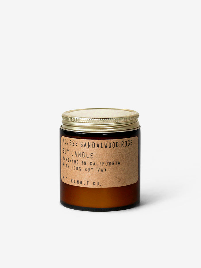 P.F. Candle Co 3.5oz Soy Candle - Sandalwood Rose