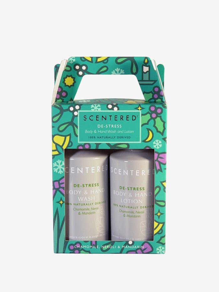Scentered De-Stress Wash and Lotion Duo - 300ml
