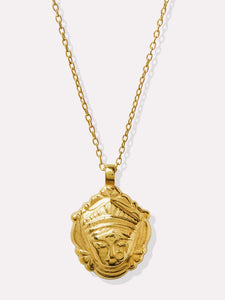Goddess Charms Goddess of Self Discovery Pendant Necklace - Gold