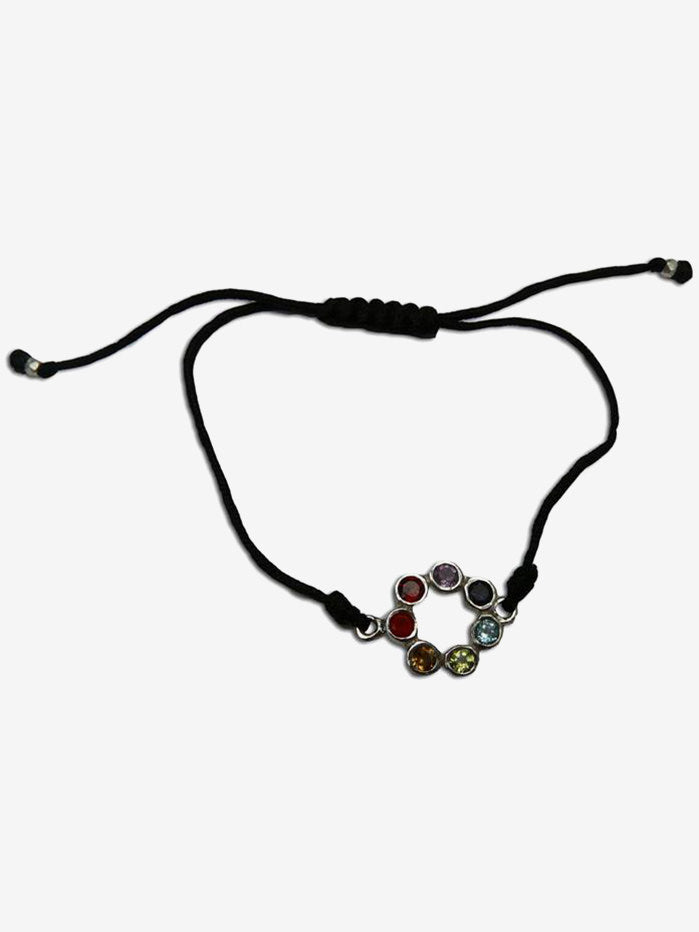 Shanti Boutique Circle of Happiness Chakra Bracelet