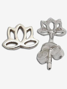Shanti Boutique Lotus Stud Earrings
