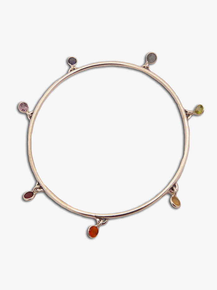 Shanti Boutique Wellbeing Seven Chakra Bangle