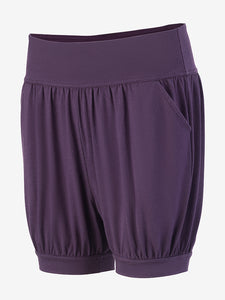 Yogamatters Eco Yoga Shorts - Purple
