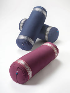 Yogamatters Silver Trim Bolster