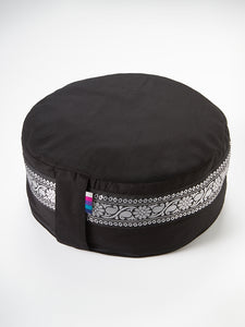 Yogamatters Silver Trim Meditation Cushion