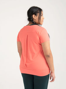 Asquith Smooth You Tee - Coral