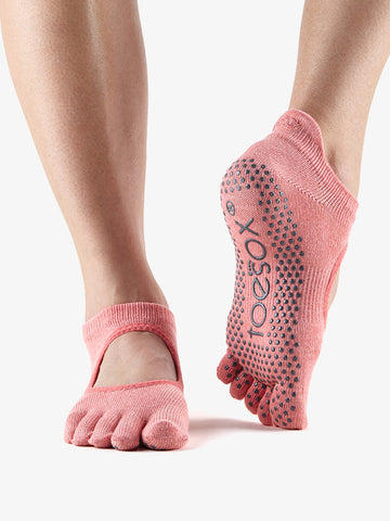 ToeSox Full Toe Bellarina - Melon