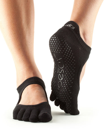 ToeSox Full Toe Bellarina - Black