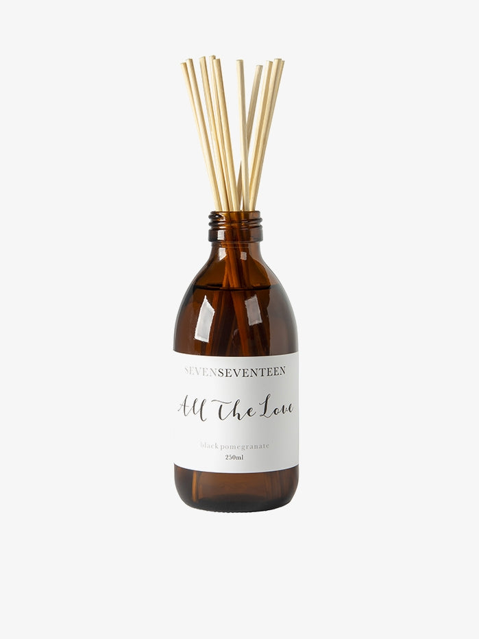 SevenSeventeen Reed Diffuser - All the Love