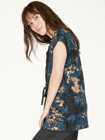 Thought Anna Top - Majolica Blue