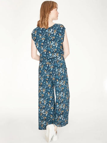 Thought Atkins Jumpsuit - Majolica Blue