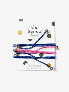 Tiebandz Hair Ties - Jet Setz