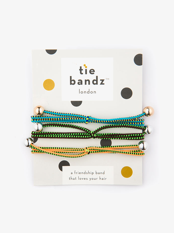 Tiebandz Hair Ties - Caribbean Crush