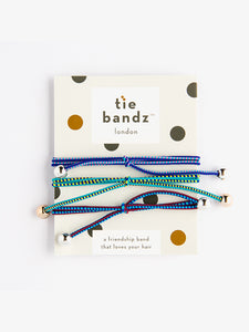 Tiebandz Hair Ties - Lovin' the Bluez