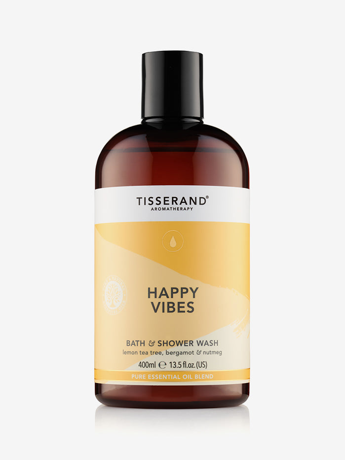 Tisserand Bath & Shower Wash - Happy Vibes