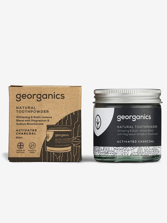 Georganics Charcoal Tooth Powder - 60ml