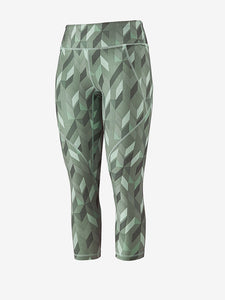 Patagonia Centered Crops - Fast Quilt: Gypsum Green