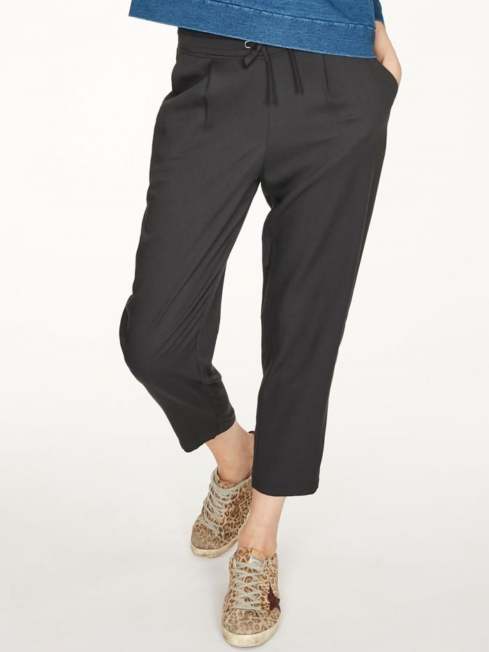 Thought Katie Drawstring Trousers - Black