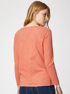 Thought Lorraine Top - Coral