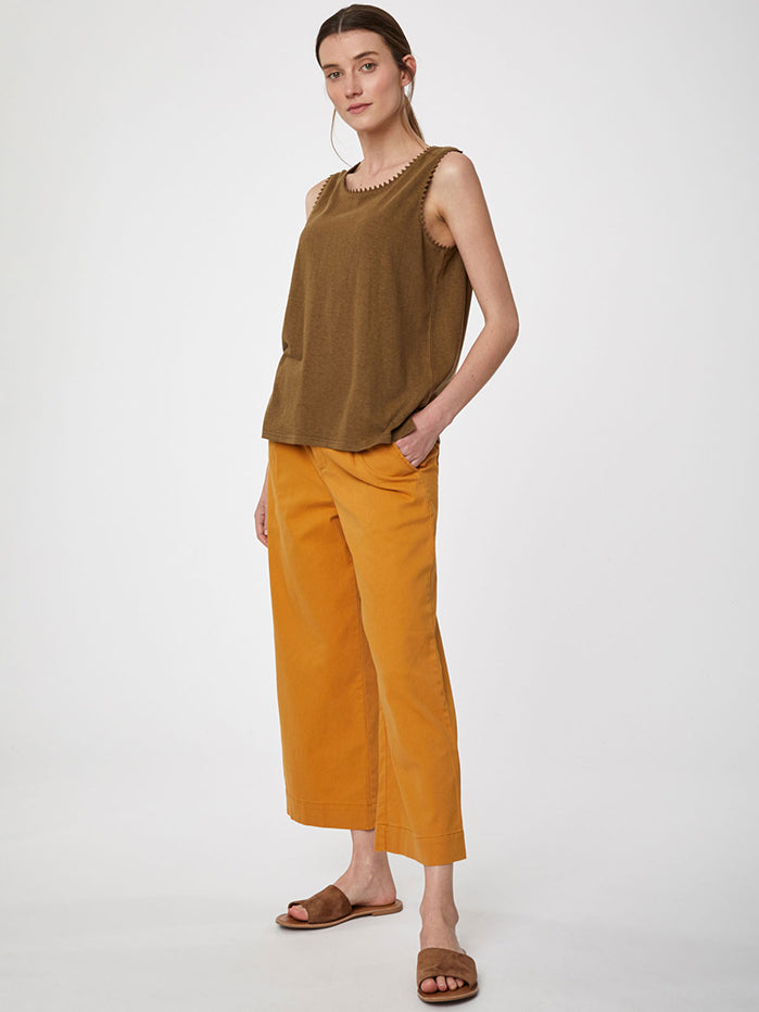 Thought Betta Vest Top - Desert Brown