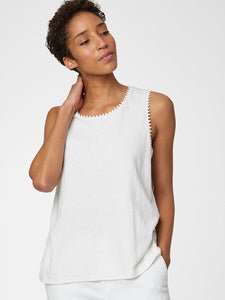 Thought Betta Vest Top - White