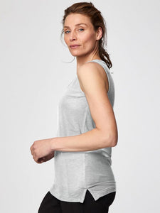 Thought Bamboo Base Layer Singlet - Grey Marl