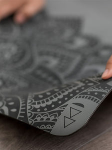 Yoga Design Lab Infinity Mat - Mandala Charcoal