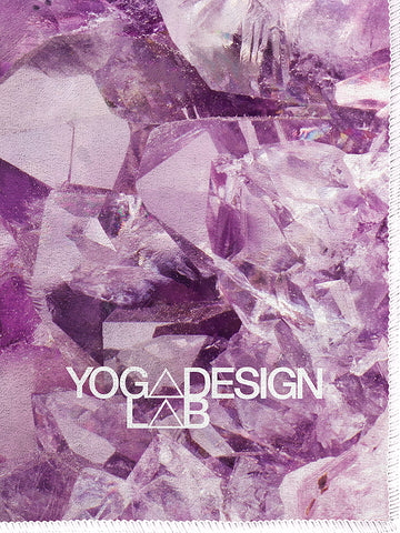 Yoga Design Lab Hot Yoga Mat Towel - Quartz