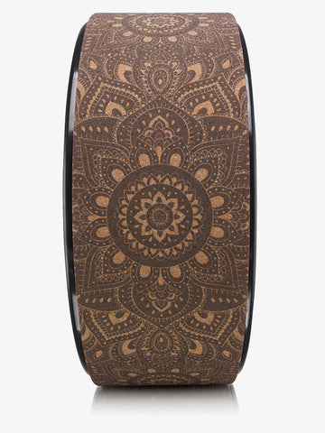 Yoga Design Lab Yoga Wheel - Mandala Black
