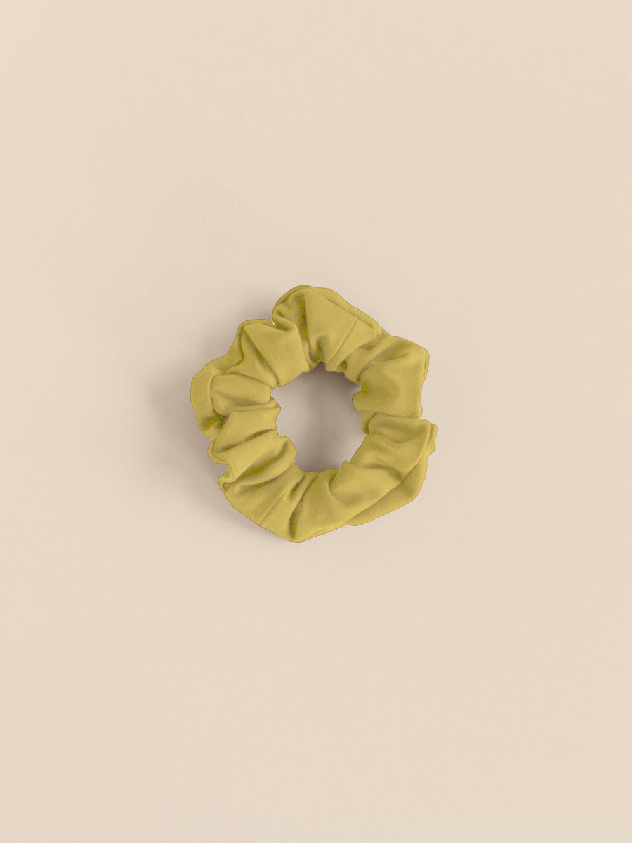 Girlfriend Collective The Scrunchie - Chartreuse