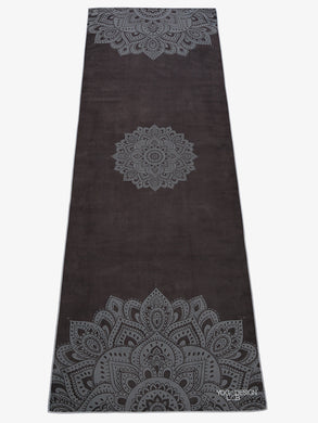 Yoga Design Lab Hot Yoga Towel Mandala Black