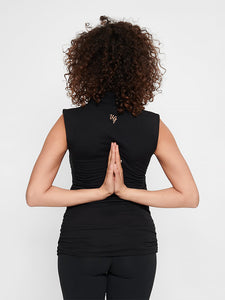 Urban Goddess Good Karma Yoga Top - Urban Black