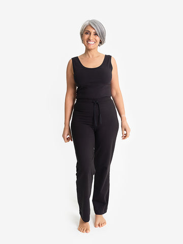 Yogamatters Eco Drawstring Yoga Pants - Black