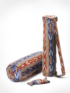 Yogamatters Bandha Ikat Zip Up Yoga Mat Bag